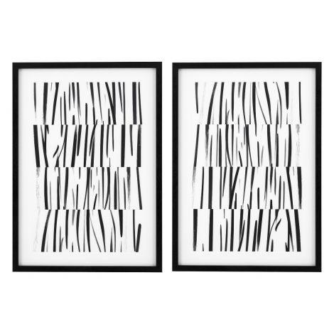 Prints Melotti, Study of Cloth Drawing set of 2