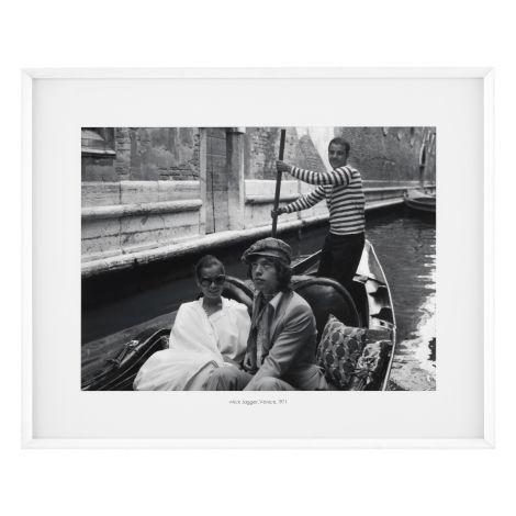 Print Mick Jagger, Venice 1971