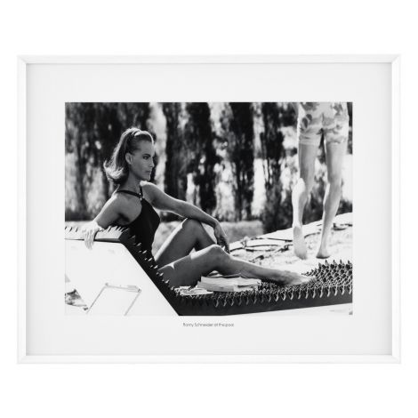 Print Romy Schneider at the Pool