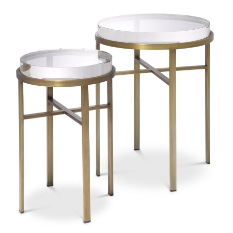 Side Table Hoxton set of 2