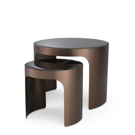 Side Table Piemonte set of 2