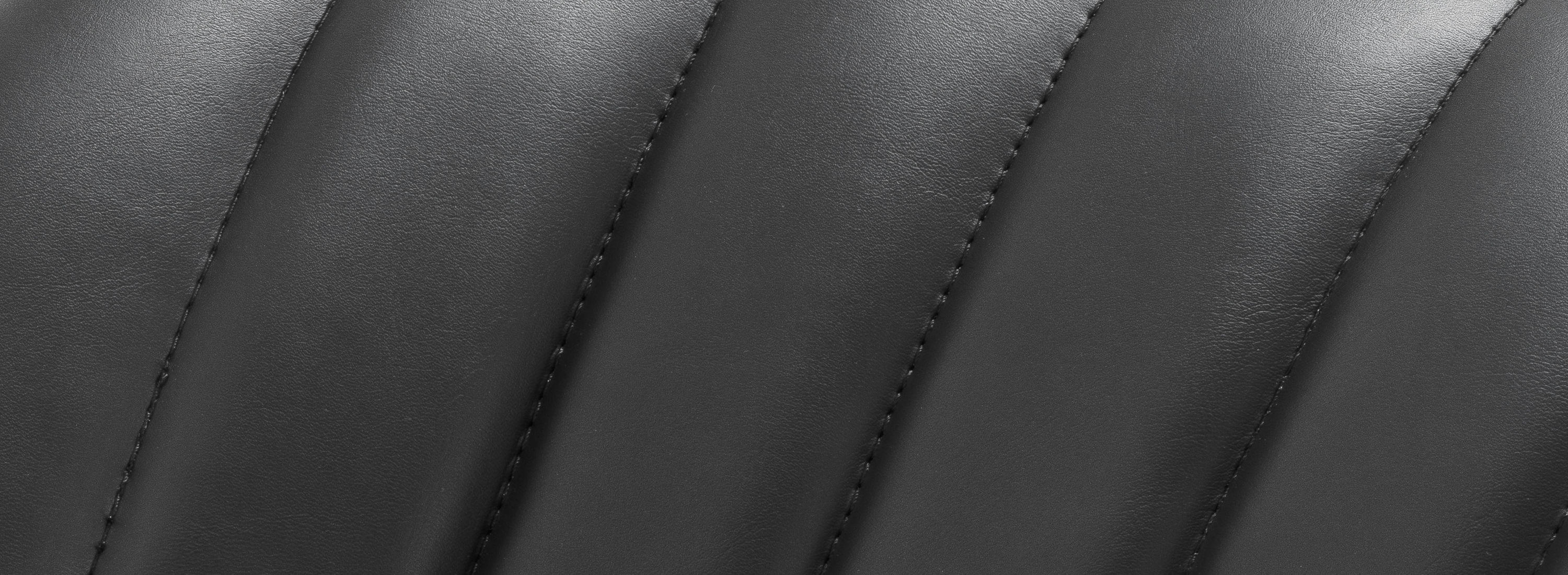 Faux leather detail