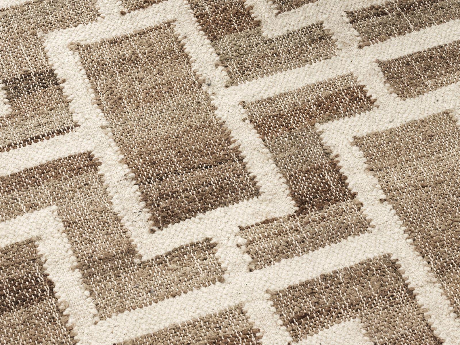 Jute carpets detail